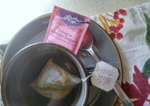 Herbal teas can help to soothe an upset stomach