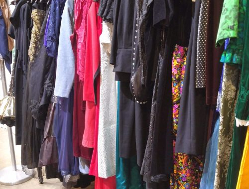 A selection of dresses from Street Scene.