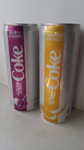 The new Diet Coke flavors.