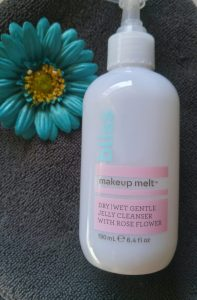The Bliss Makeup Melt Jelly Cleanser.